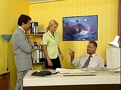 Nicoletta Blue-Secretary screwed in the Office