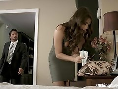 Satiate don't call the police, I'll do anything! - Adria Rae