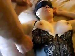 Busty slutty wifey group sex party