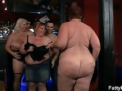 Fat group bbw soiree