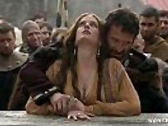 Eva Green - Bare in Public/woods - Camelot S01E02 www.celeb.today