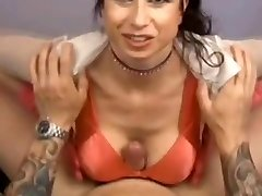 Busty MILF - POV Titfuck Hand Job Blowjob