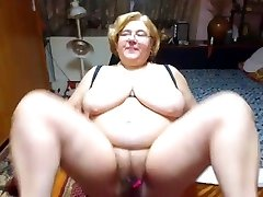 Mature with fat jugs