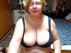 Mature with fat udders