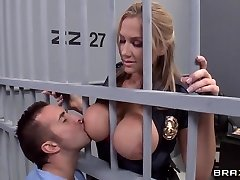 Alanah Rae kinky as smash from this muscular prisoner