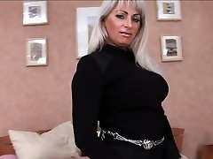 Mature vulva is fucked in every hole