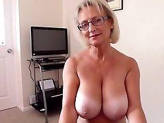 British big innate tits mature hot blowjob