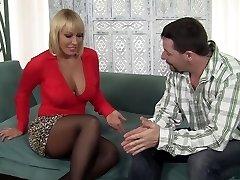 Exotic pornstar Mellanie Monroe in crazy piercing, mature fucky-fucky flick