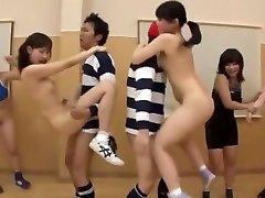 Crazy Chinese model Ai Uehara, Saki Kanasaki in Exotic Group Sex, Small Titties JAV scene