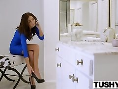 TUSHY First Anal Invasion For Super Hot Wife Whitney Westgate