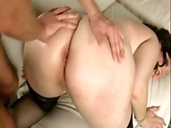 gorgeous chubby babe anal