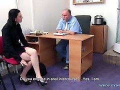 Timea Obgyn Check-up - anal and vaginal inspection before speculum insertion