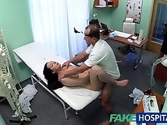 FakeHospital Super Hot babe wants her Doctor to blow her tits