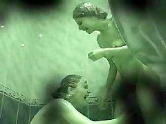 Hidden cam - two girls in shower 02