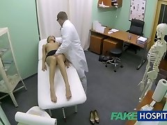 FakeHospital Hot girl with big fun bags gets therapists treatment