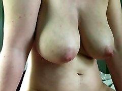 Big bra-stuffers cameltoe slide cumshot