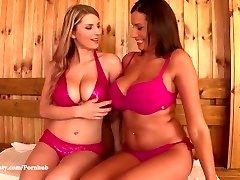 DDF Busty - Katerina Hartlova and Sensuous Jane Big funbags and Orgasms