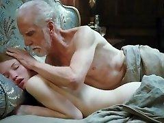 Emily Browning - Teen damsel sex with senior guy, Full Frontal Nudity, Bush