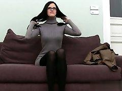 Big-chested student brutal anal orgasm