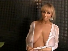 Hanging breasts  Slender beauty with saggy wonders