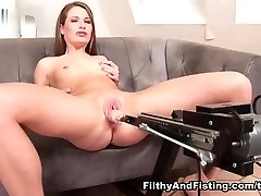 Leanna Tasty & Butterfly in 19 Year Old Butterfly Enjoys A Fist Up Her Pussy - FilthyAndFisting