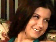 Big-boobed Sara Stone smashed hard by boyfriend