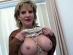 Unfaithful british milf lady sonia showcases her ginormous tits