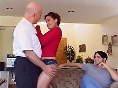 Big tits hottie pumped hard