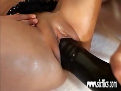 Hot Latina fisting and hefty fuck stick insertions