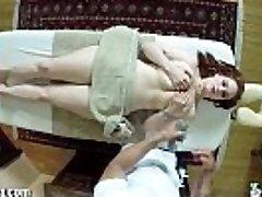 TrickySpa Siri Fellates Cock of Voyeur masseur