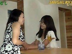 Mature Japanese Mega-slut and Young Teen Chick