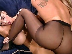 Sole fetish pantyhose fat tits lesbian bitches