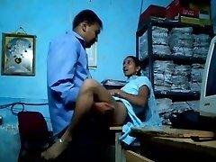 Tamil Office Staff Hook-up