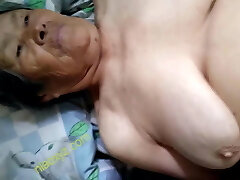 large tits chinese granny