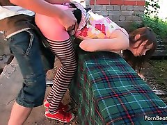 Shy brunette teen girl gets fucked hard part5