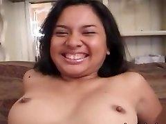Ugly amateur asian lady banged hard