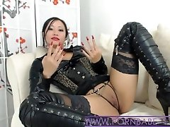 Asian PornbabeTyra Gives You Naughty Domination