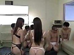 www.JavRock.com - Yui Hatano and Rei Miziuna suck off spunk swap nurse pantyhose