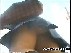 Upskirt Panties Voyeur Video