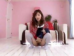 Hottest Chinese slut Chika Eiro in Insatiable Pissing, College JAV scene
