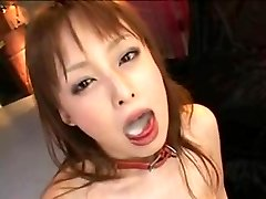 japanese girl  swallow cum
