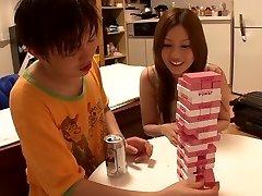 Horny Japanese whore Yui Tatsumi in Amazing lean, diminutive tits JAV movie