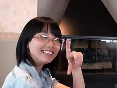 Japanese Glasses Girl Deep Throat