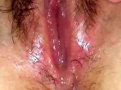 Humid pussy juice solo