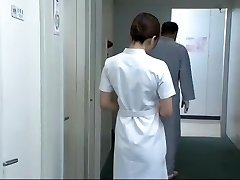 Finest Asian model Aya Kiriya, Mirei Yokoyama, Emiri Momoka in Exotic Nurse JAV flick
