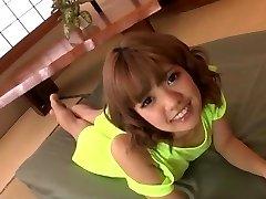 Wonderful toy porn along insolent Japanese doll Kana Aono