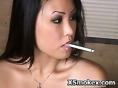 Smoking Hardcore Kinky Tart