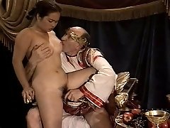Japanese Young Girl Casting made by Older & Fat Granddad