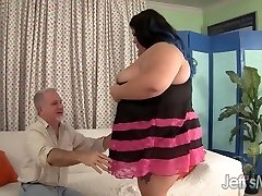 Fatty Asian Plus-size Sugar gets romped hard