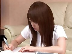 Magnificent Asian student loves toying with her pussy